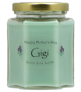 """Gigi"" - Happy Mother's Day Candles"