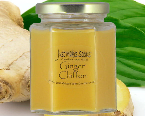 Ginger Chiffon Scented Candle