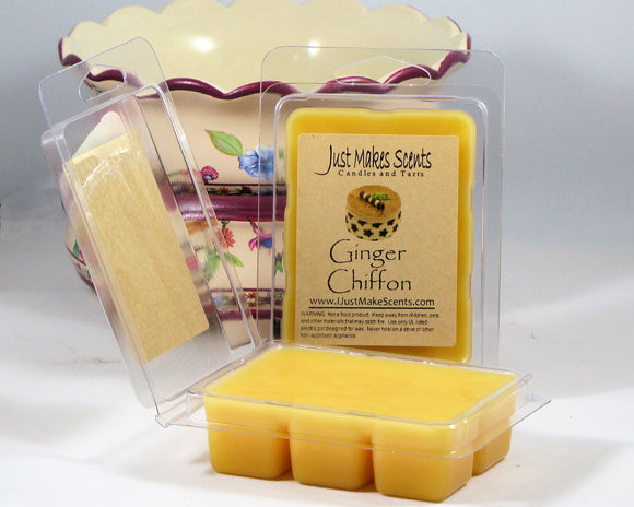 Ginger Chiffon Scented Wax Melt