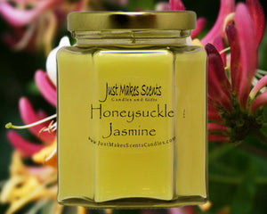 Honeysuckle Jasmine Scented Candle