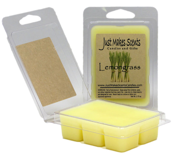Lemongrass Scented Wax Melts