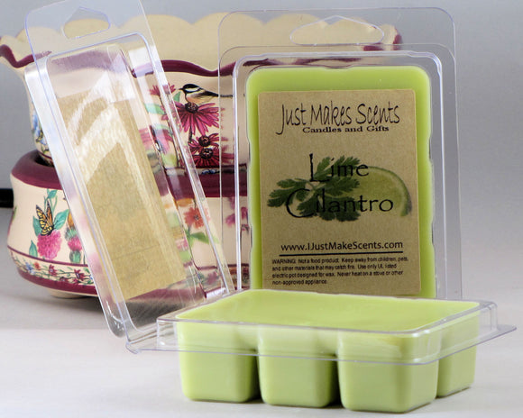 Lime Cilantro Scented Wax Melts