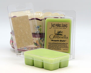 Lime Citronella Scented Wax Melts
