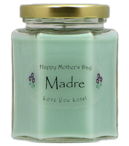 """Madre"" - Happy Mother's Day Candles"