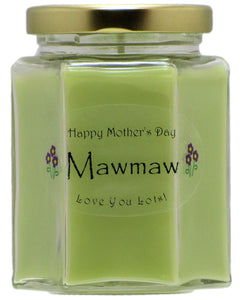 """Mawmaw"" - Happy Mother's Day Candles"