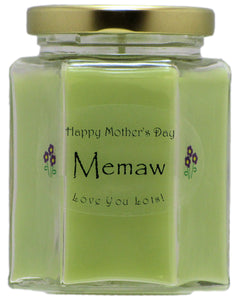 """Memaw"" - Happy Mother's Day Candles"