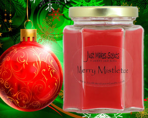 Merry Mistletoe Christmas Scented Candle