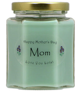 """Mom"" - Happy Mother's Day Candles"