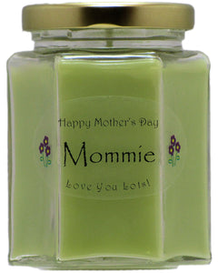 """Mommie"" - Happy Mother's Day Candles"