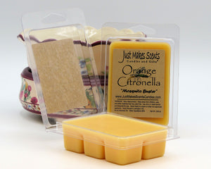 Orange Citronella Scented Wax Melts