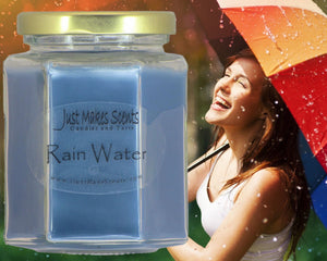 Rain Water Scented Candle