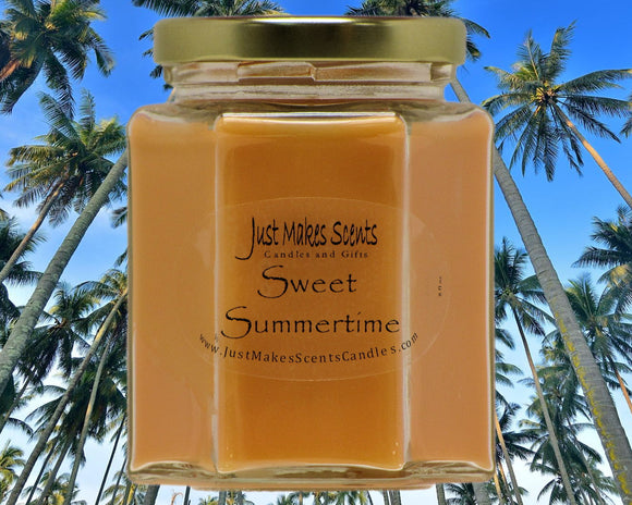 Sweet Summertime Scented Candle