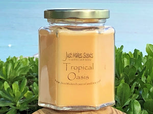 Tropical Oasis Tropical Fruit Scented Candle