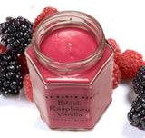 Black Raspberry Vanilla Scented Candle