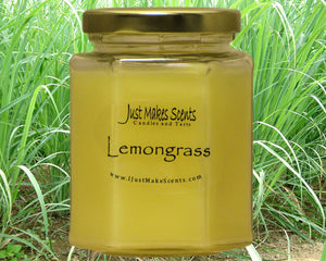 Lemongrass (Mosquito Repelling) Scented Candle