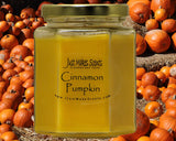 Cinnamon Pumpkin Scented Candle