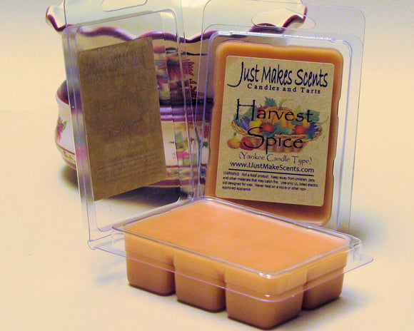 Harvest Spice Scented Wax Melts (Compare to Yankee Candle®)