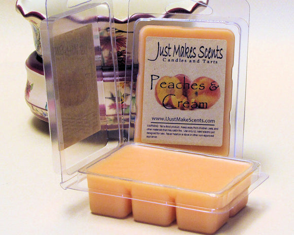 Peaches & Cream Scented Wax Melts