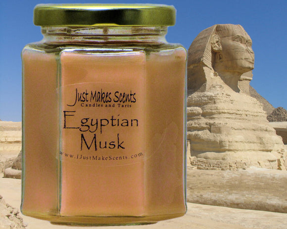 Egyptian Musk Scented Candle
