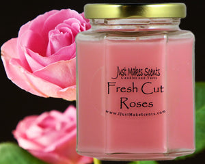 Roses Candle Poto