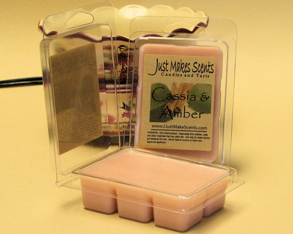 Cassia & Amber Scented Wax Melts