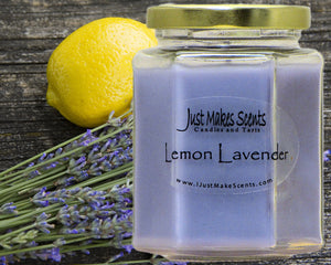 Lemon Lavender Scented Candle