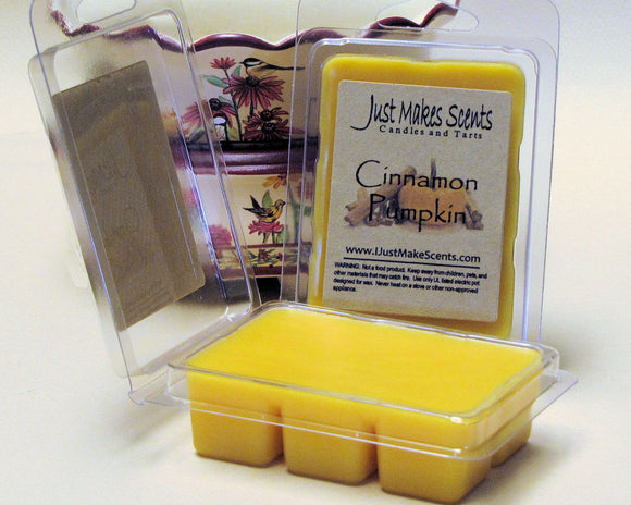 Cinnamon Pumpkin Scented Wax Melts