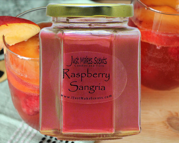 Raspberry Sangria Scented Candle