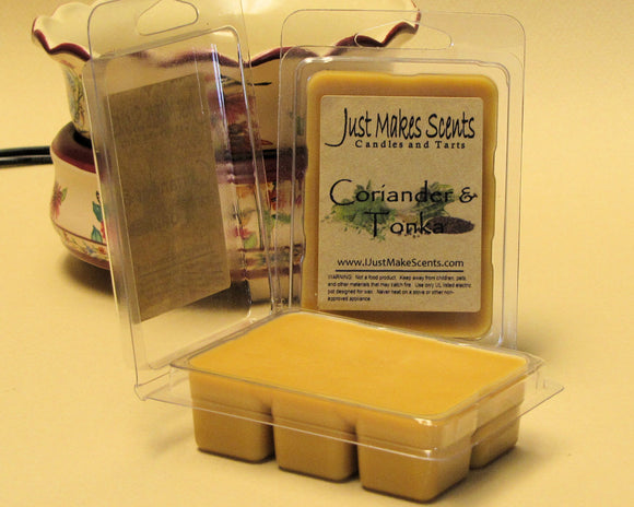 Coriander and Tonka Wax Melts
