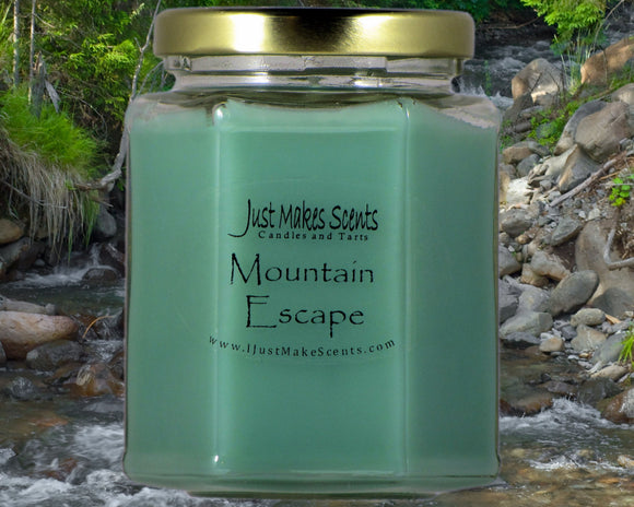 Mountain Escape Scented Candle - Compare to Capri Blue Volcano