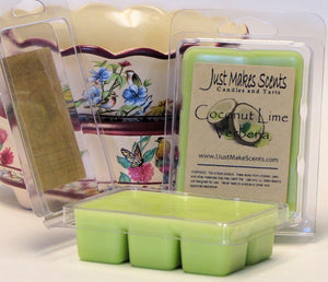 Coconut Lime Verbena Scented Wax Melts
