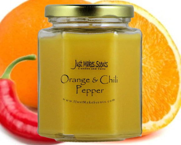 Orange & Chili Pepper Scented Candle
