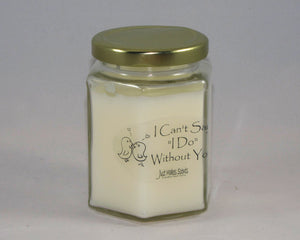 "I Can't Say ""I Do"" Without You Candle"