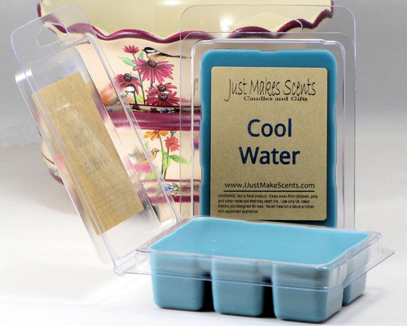 Cool Water Scented Wax Melts