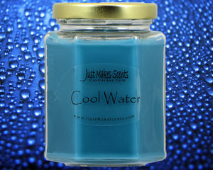 Cool Water Scented Candle