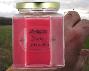 Berry Citronella Mosquito Repelling Candles (For Indoor Use)