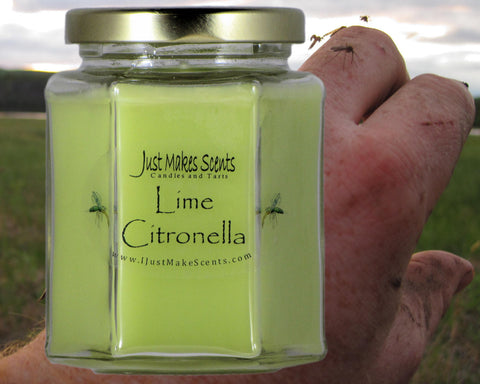 Lime Citronella Mosquito Repelling Candle (For INDOOR Use)