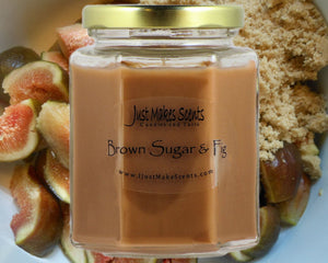 Brown Sugar & Fig Scented Candle