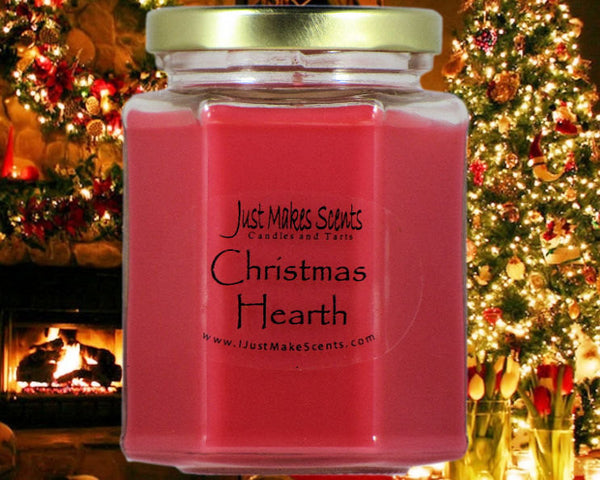 Christmas Hearth.Christmas Hearth Scented Candle