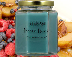 Pears & Berries Scented Candle