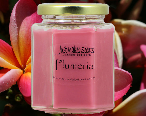 Plumeria Scented Candles