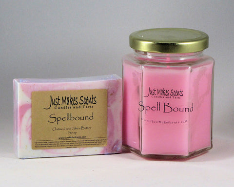 Ladies Pack- Spellbound Oatmeal and Shea Butter Soap and Soy-Blend Candle