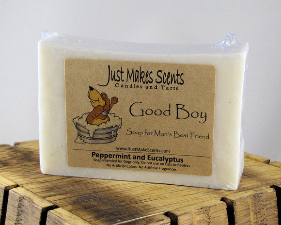 Good Boy Soap For Dogs!