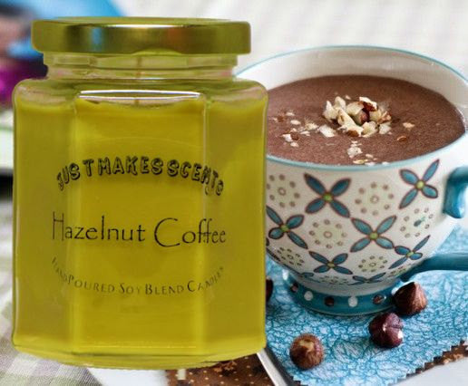 Hazelnut Coffee Scented Candle