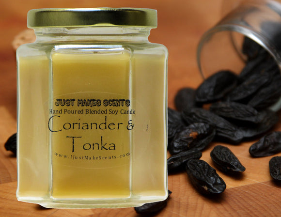 Coriander & Tonka Scented Candle