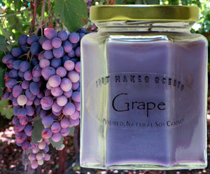 Grape Scented Candle