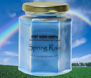Spring Rain Scented Candle