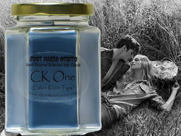 CK One (Calvin Klein type) Scented Candle