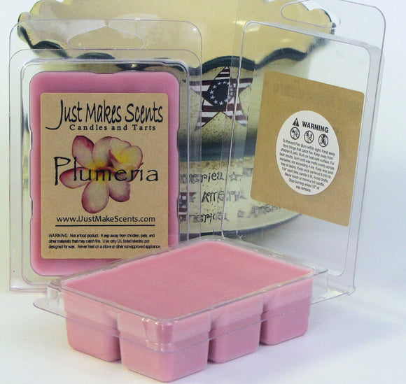 Plumeria Scented Soy Wax Melts