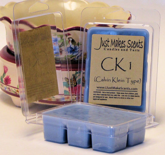 CK1 (Calvin Klein type) Scented Wax Melts